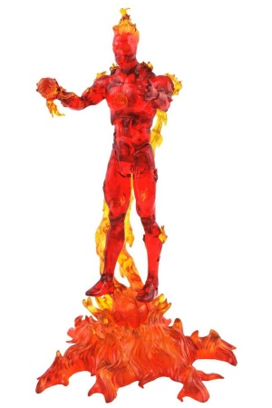 Marvel Select Action Figure Human Torch 18 cm