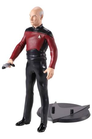 Star Trek: The Next Generation Bendyfigs Bendable Figure Capt. Picard 19 cm