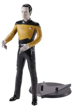 Star Trek: The Next Generation Bendyfigs Bendable Figure Lt. Cmdr. Data 19 cm